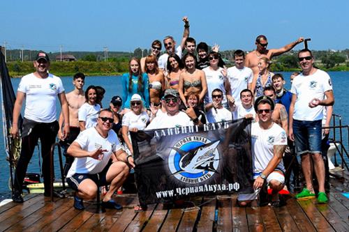 черная акула дайвинг клуб - black shark diving club